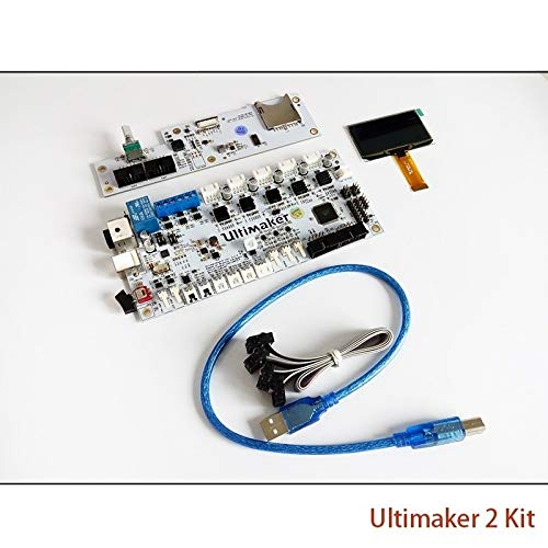 HUANRUOBAIHUO For Ultimaker V2.14 Control Board Ultimaker 2 Generations Board Interface Board with LCD 3D Printer Parts 3D Printer accessories