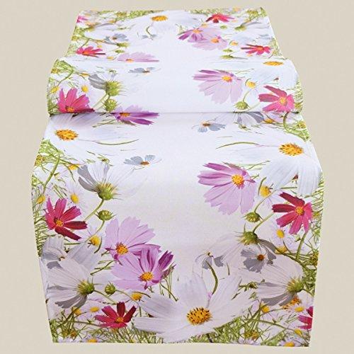 Tischläufer mit floralem Druck-Motiv