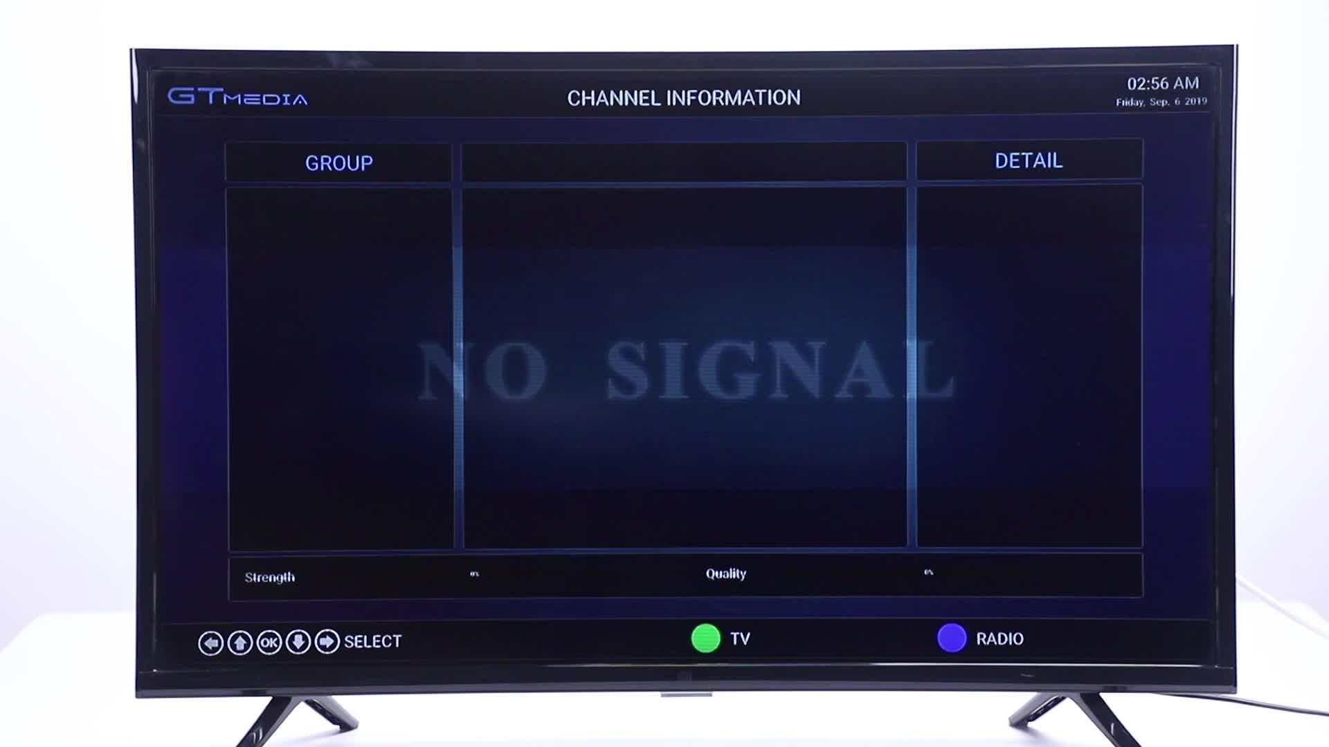 GT MEDIA GTC Receptor Satelite Decodificador TDT Android 6.0 TV Box 4K DVB-S/S2 DVB-T/T2/Cable 3D H.265 HEVC MPEG-2/4 WiFi 2.4Ghz BT 4.0 Smart TV Box ...