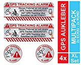 KOKOTEX 4 GPS Aufkleber Fahrrad Diebstahlschutz - Tracking Alarm Tracker Diebstahl vorbeugen 4...