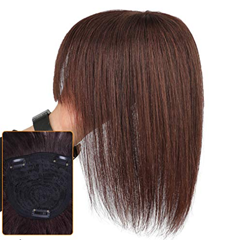 Head Crown Remplacement pour cheveux avec frange Clip pour femme