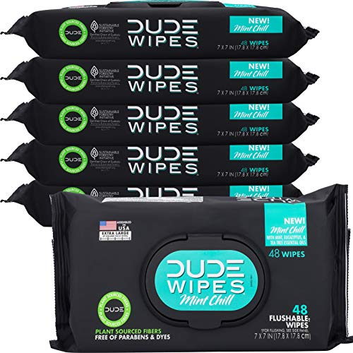 Dude Products Flushable Wet Wipes Dispenser