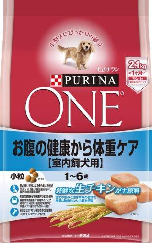 スマートマットライト ピュリナ ワン 成犬用(1-6歳) 室内飼犬用 お腹の健康から体重ケア 小粒 チキン 2.1kg(700g×3袋) [ドッグフード]
