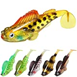 GOTOUR Fishing Lures for Bass, Pre-Rigged...