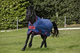 [page_title]-Horseware Amigo Mio Turnout lite Dark Blue red Weidedecke Regendecke (140)