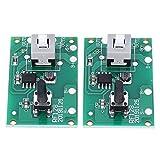 BYARSS Controlador de cuerda 2pcs lámpara solar Placa de circuito del módulo con 8 clases modo de...