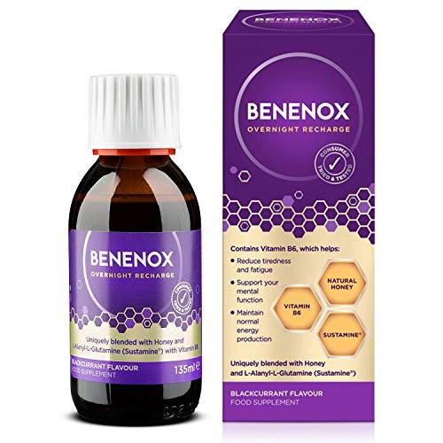 Natures Aid Benenox Food Supplement, Blackcurrant Flavour, 135 ml
