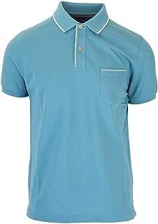 LORO PIANA Luxury Fashion Mens FAI04857192 Light Blue Polo Shirt | Spring Summer 20