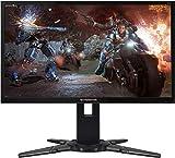Acer Predator XB240Hbmjdpr 61 cm (24 Zoll) Monitor (VGA, DVI, HDMI, 1ms Reaktionszeit, Full HD, Höhenverstellbar, Pivot) schwarz