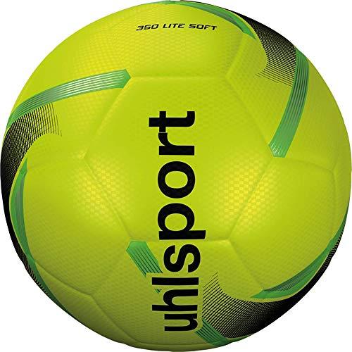 Uhlsport 350 Lite Soft Fussball Fluo gelb/schwarz/Fluo gr