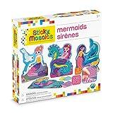 ORB Sticky Mosaics Mermaids Blue/Yellow/Orange/Purple, 12' x 2' x 10.75'