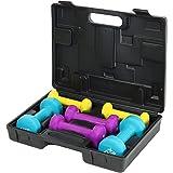DTX Fitness - Kurzhantelset mit Koffer - Hanteln für Anfänger - 6 kg