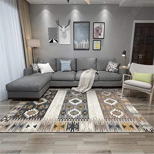 YUANMAKE tapijt woonkamer slaapkamer kristal druk kasjmier tafel salontapijt badmat 80 x 160 cm