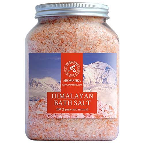 Himalaya Salz Rosa Kristallsalz 1300g - 100% Rein & Natürlich - Natursalz - Salz Himalaya für Guten Schlaf - Stressabbau - Baden - Himalaya Badezusatz