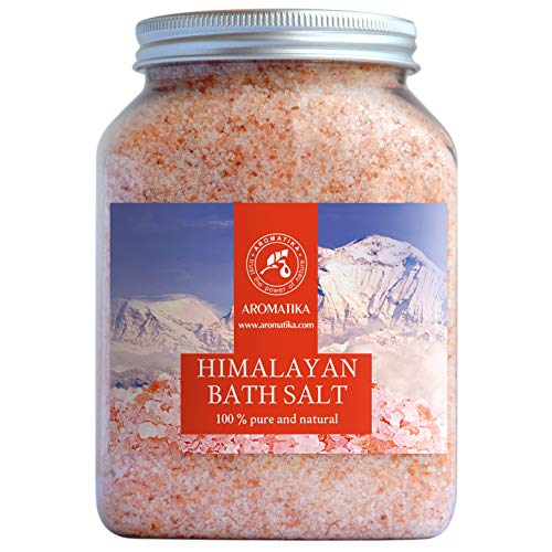 Sel Rose de Himalaya 1300g - 100% Pure & Naturel - Sel Naturel - Sel Himalayen pour Bon Sommeil - Anti Stress - Sel de Bain - Beauté - Aromathérapie - Spa