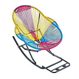 GAIQIN Portable 2021 Upgrade Fauteuil à Bascule de gravité de 75 cm de 75cm de 75cm, chaises Longues à rotin de PE à la…