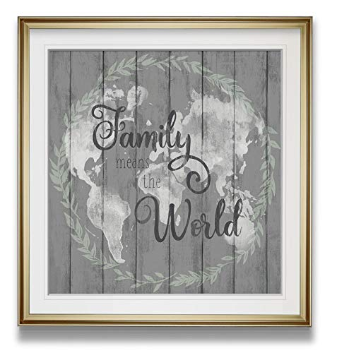 Time 4 Picture Home Decor Pictures Canvas Art Giclee with Wedge Frame with Quote Canvas