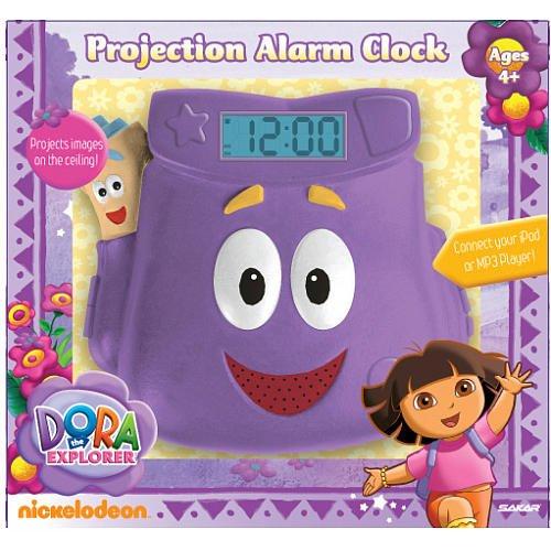 Dora the Explorer Projection Alarm Clock