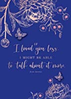 Jane Austen If I Loved You Less Embellished Card (Jane Austen Card)