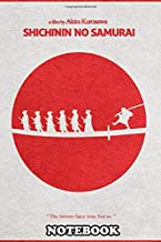 Notebook: Seven Samurai Minimalist Alternate Movie Poster , Journal for Writing, College Ruled Size 6