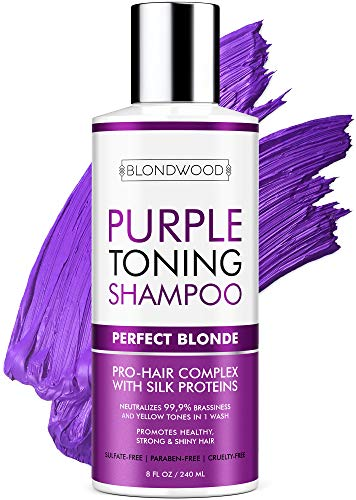 Purple Shampoo for Blonde Hair – Made in USA - Gentle...