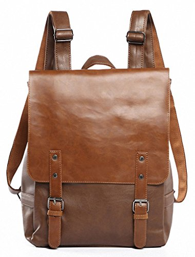 Kenox Vintage PU Leather stylish bags for college girls