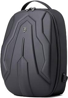 Sion - Mochila para ordenador portátil (impermeable, con USB, tablet y portátil), color negro