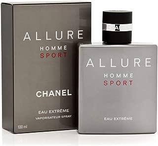 Chaǹel Allure Homme Sport Eau Extreme Eau de Parfum Spray 3.4 OZ.