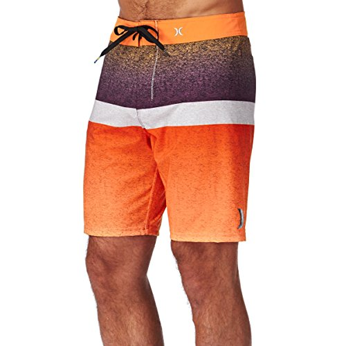 Hurley zwembroek Phantom Blocked Flight 19' oranje/lila