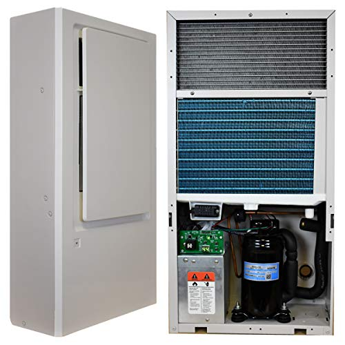 Innovative Dehumidifier Systems ENERGY STAR® IW25-4 On Wall Dehumidifier with Bi-Polar Ion Generator removes 29 PPD for 1500 sq ft