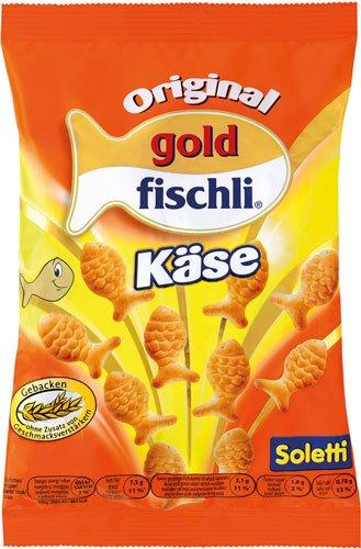 10x Soletti - Original goldfischli Käse - 100g