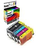 Koala 4 Druckerpatronen kompatibel für HP 920XL 920 XL für HP Officejet 6500 6000 7000 7500 (1*Schwarz 1*Cyan 1*Magenta 1*Gelb)