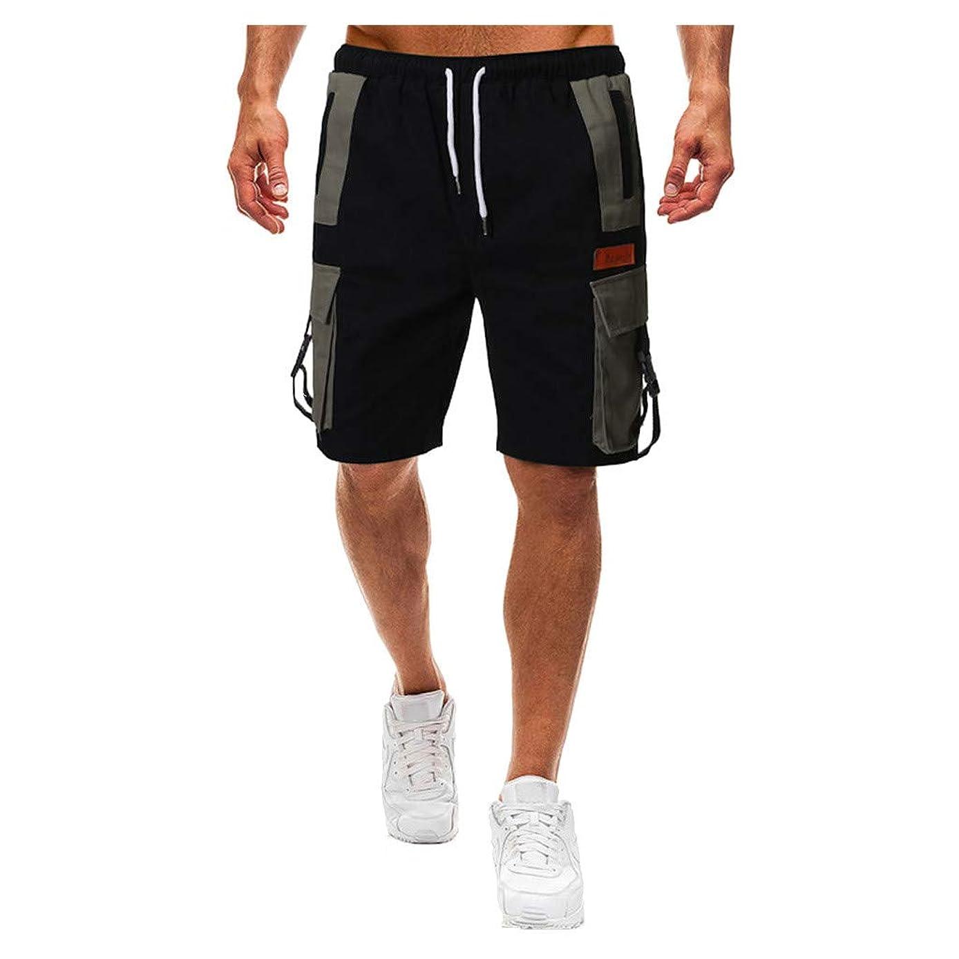 Men's Twill Cargo Shorts,Multi Pocket Loose Fit Cotton Outdoor Sport Short Combat Pants for Men