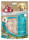 8 in1 Delights Twist Dental Sticks for dogs 2-12 kg,...