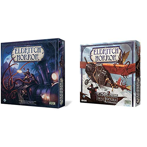 Fantasy Flight Games Eldritch Horror, Talla única (FFEH01) + montañas de la...