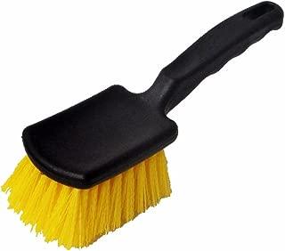 【プロ仕様・浴室床掃除に】お風呂カラリ床・サーモフロアタイル床・目地掃除用ブラシ・ハンドルタイプ
