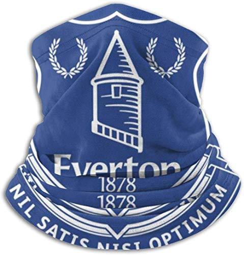 Outdoor Face Mask Neck Gaiter for Dust Sun Protection Head Wrap Everton F.c. Men Women
