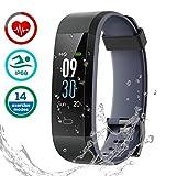 Fitness Tracker Impermeabile IP68, LATEC Smartwatch Cardiofrequenzimetro...
