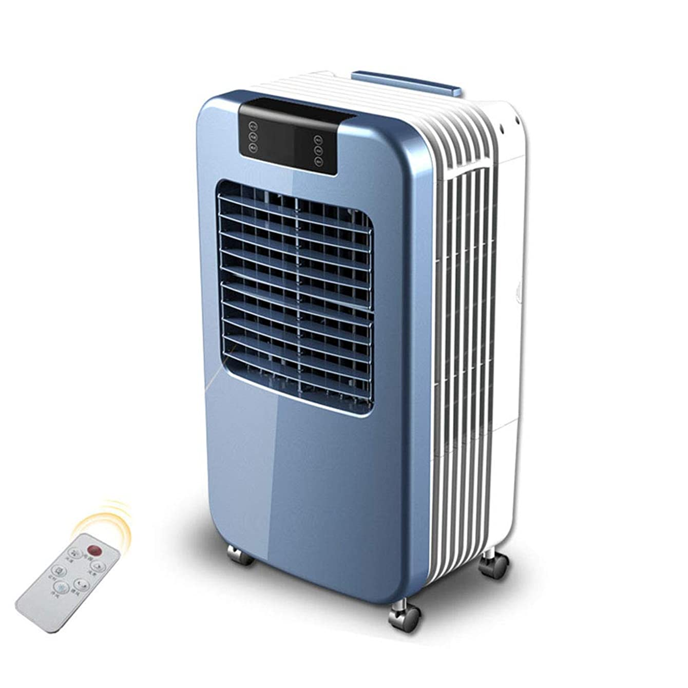 Air Cooler Industrial Evaporative Portable Indoor Humidifier Or Fan, Intelligent Remote Control, 30l Large Capacity Water Tank