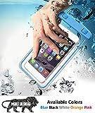 Reiz Universal Waterproof Case, IPx8 Phone Pouch for Hospital, Swimming, Hiking, Biking, Underwater