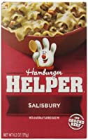 Betty Crocker Hamburger Helper Salisbury, 6.2-Ounce Boxes (Pack of 12) by Hamburger Helper