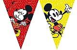 Unbekannt Catena per gagliardetto da 2,3 m * Mickey Mouse Decorazione per la Festa di Compleanno o la Festa a Tema dei Bambini