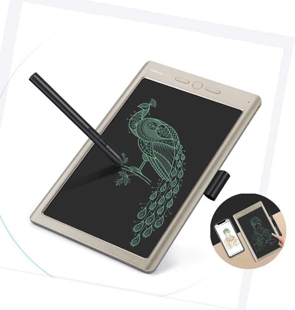 RHXX 10 Inch LCD Writing Board Bluetooth Synchronization Storage Mobile Phone Digital Drawing Tablet for Designer Businessman Teacher Students