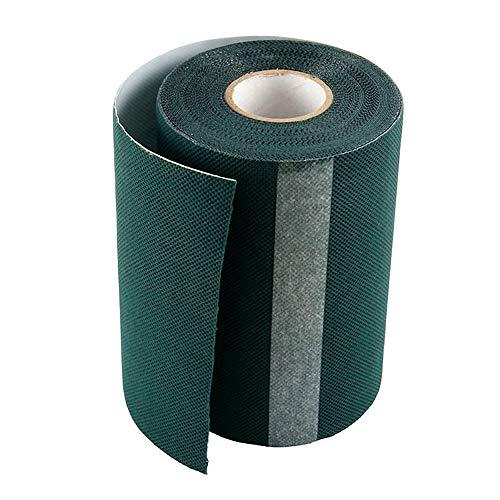ODOMY Nastro di Giuntura ad Erba Artificiale, Nastro Adesivo per Tappeti Autoadesivi 15cmx10m per Il Collegamento di 2 Pezzi Tappeto per Tappeto Erboso Sintetico