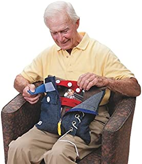 GeriGuard Solutions Memory Loss Fidget & Therapy Pillow