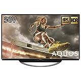 シャープ  SHARP 50V型 4K対応 液晶 テレビ AQUOS  N-Blackパネル HDR対応  4T-C50AM1