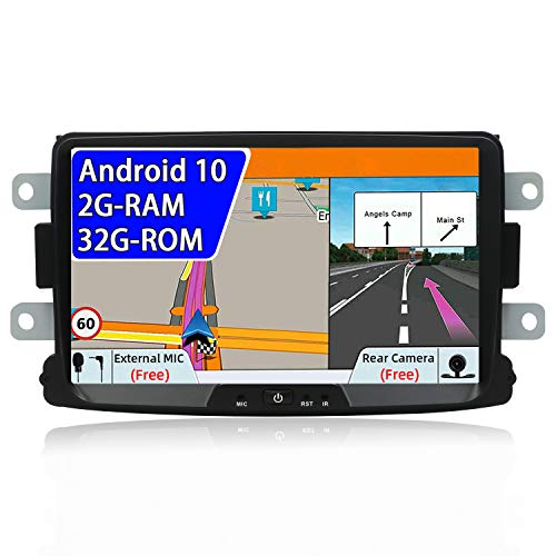 Android 9.0 Autoradio 1 Din Car Stereo Compatible para