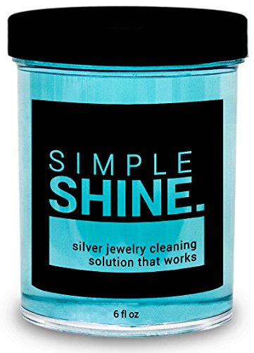 NEW Silver Jewelry Cleaner Solution   Cleaning for Sterling Jewelry, Coins, Silverware and More