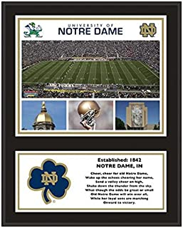 Notre Dame Fighting Irish Sublimated 12
