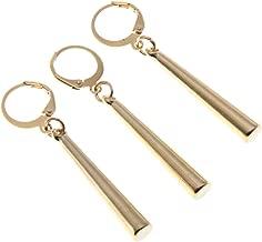 OfficialOtaku One Piece Roronoa Zoro Earrings Clip Cosplay Jewelry - Gold (0.2oz)